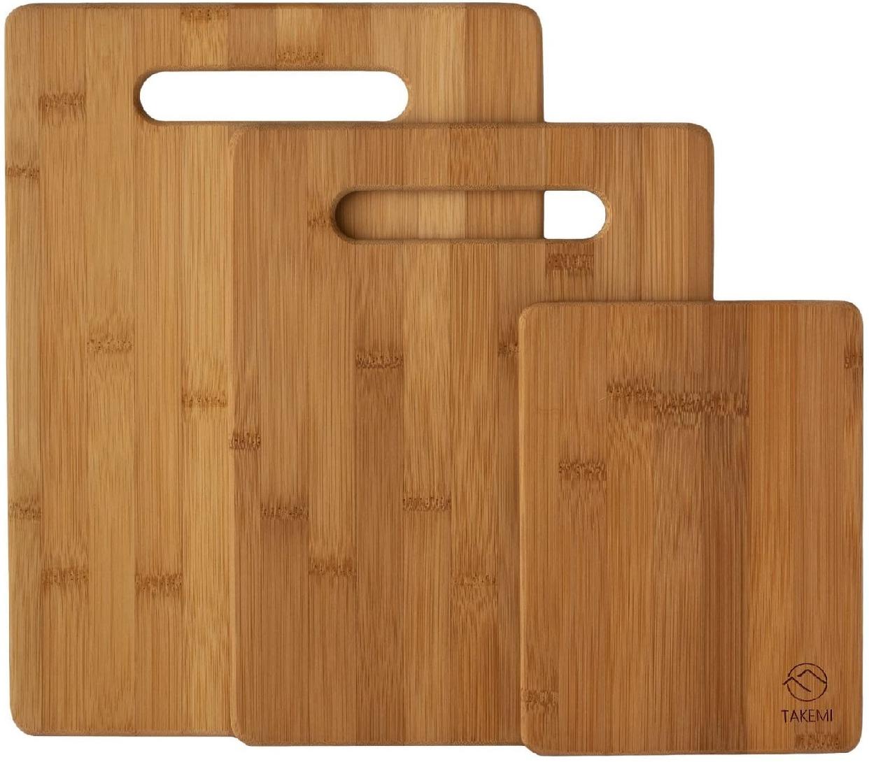 竹美(TAKEMI) 竹製まな板3点セット TM-CB3Pの商品画像