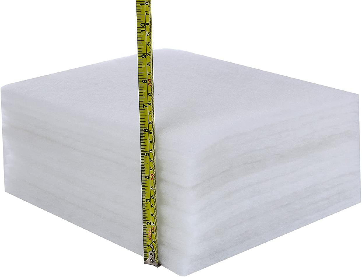 Desirable(デザイアブル)特厚1cm換気扇フィルター レンジフード 難燃性不織布 フィルタ 12枚入り (ヨコ297mmxタテ342mm)の商品画像2