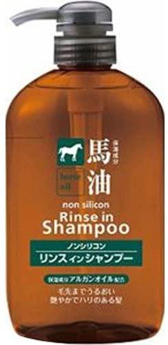 熊野油脂(クマノユシ)馬油リンスインシャンプーの商品画像