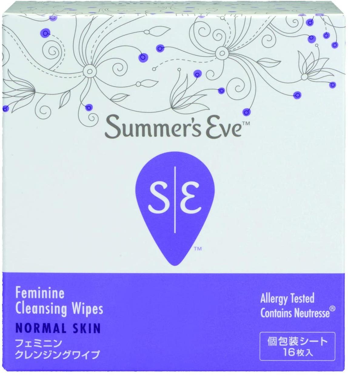 Summer's Eve(サマーズイブ) フェミニンクレンジングワイプの商品画像