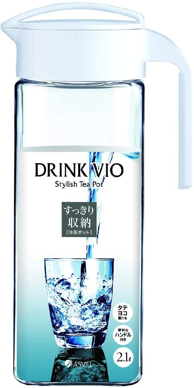 DRINK VIO(ドリンク・ビオ) D-211 2.1L ホワイト 8041の商品画像