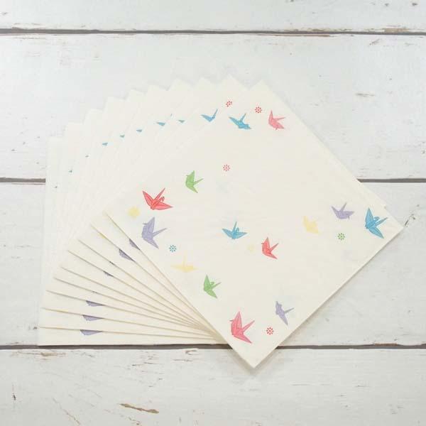 FRONTIA(フロンティア) ペーパーナプキン 折り鶴|pnk-047の商品画像4