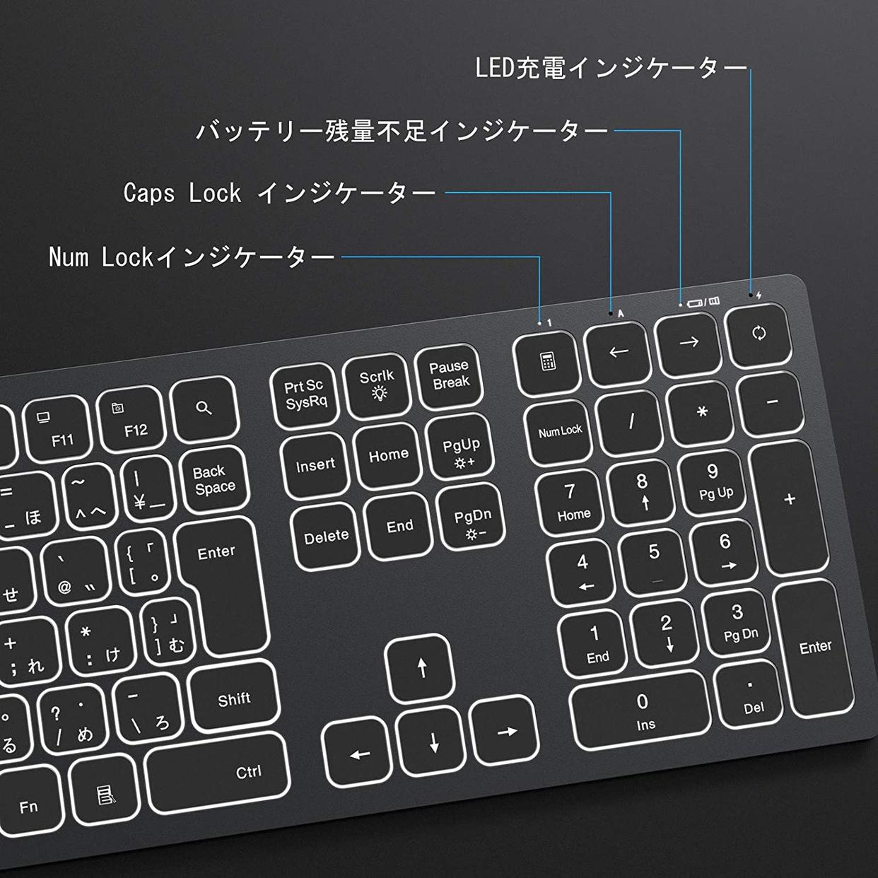 seenda Bluetooth キーボードの商品画像6