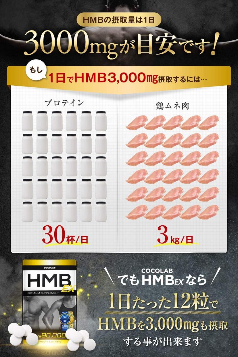 COCOLAB(ココラボ) HMB EXの商品画像6