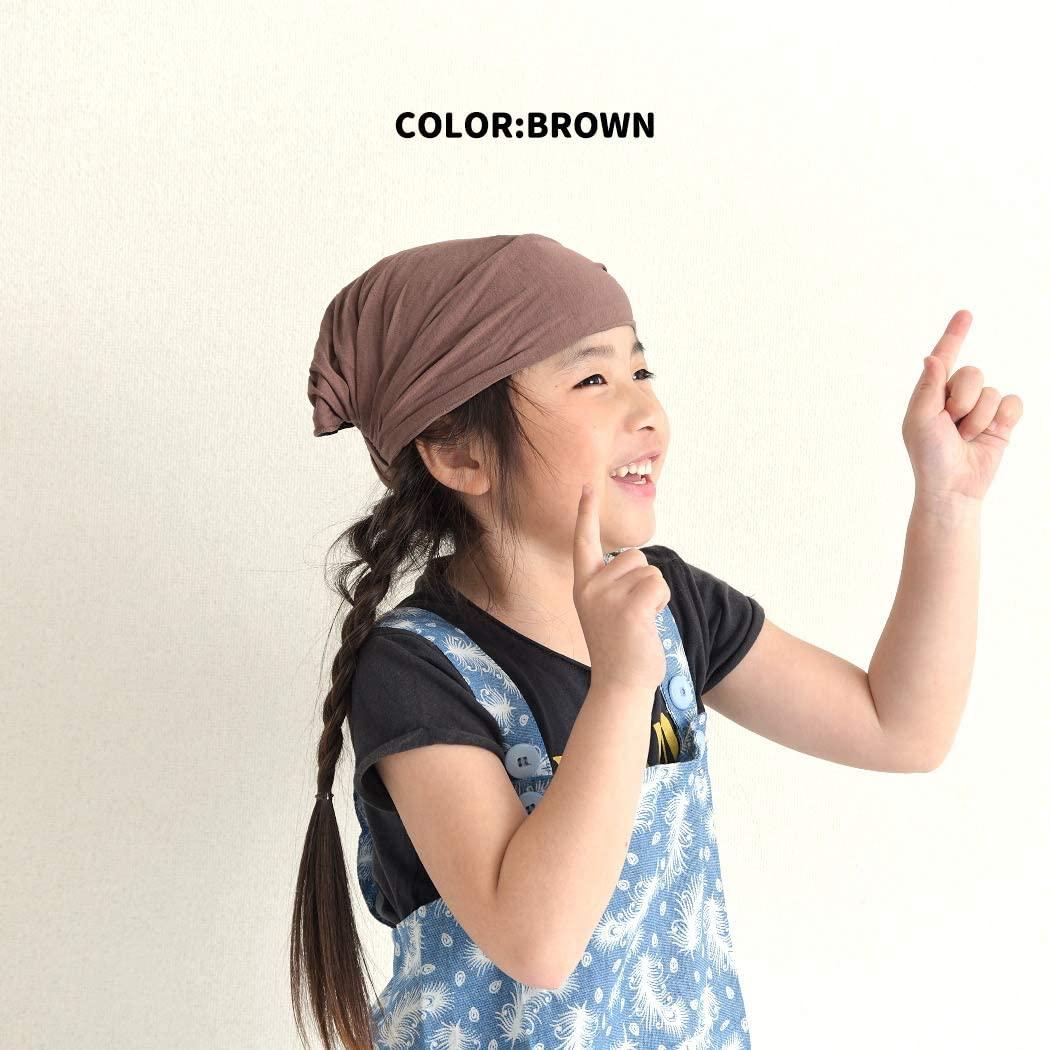 charm kids(チャーム キッズ) KARA ビスコース バンダナ ターバン ヘアバンドの商品画像5
