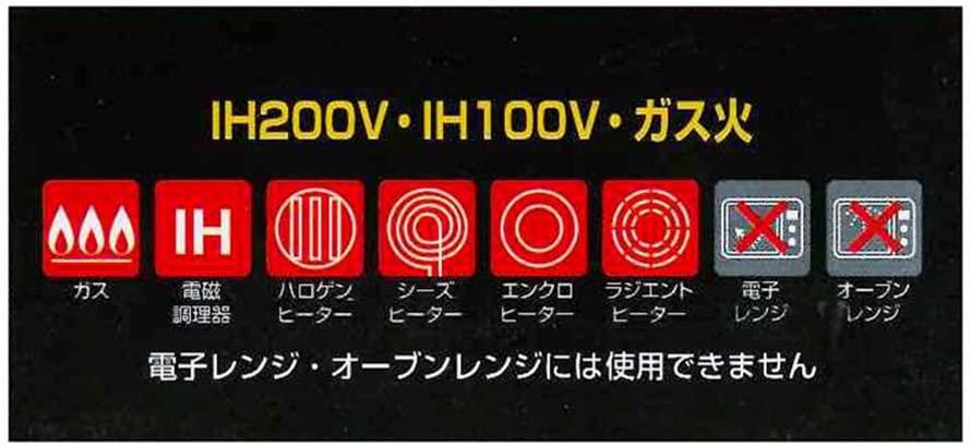 タフコ 軽量 ダイヤモンドマーブルコーティング IH対応 フライパンの商品画像4