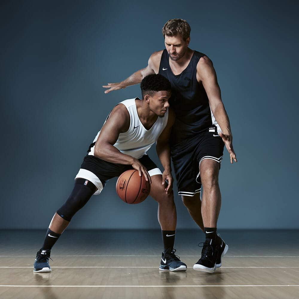 Bauerfeind(バウアーファインド) スポーツ コンプレッションニーサポート NBAの商品画像2
