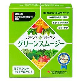 新田ゼラチン バランスコラーゲン グリーンスムージーの商品画像2