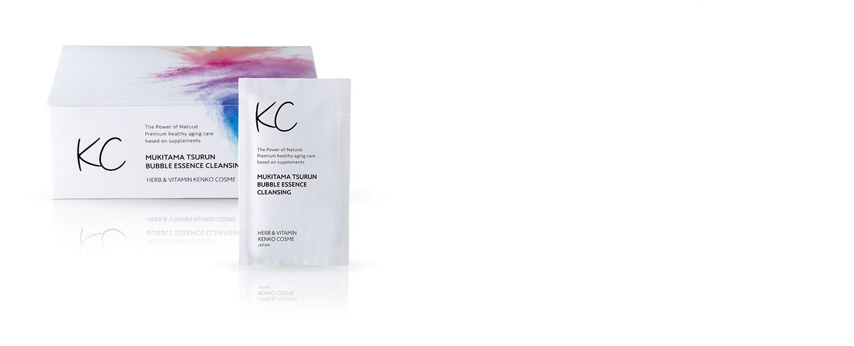 ハーブ健康本舗 KC むきタマつるん 発泡美容液クレンジング