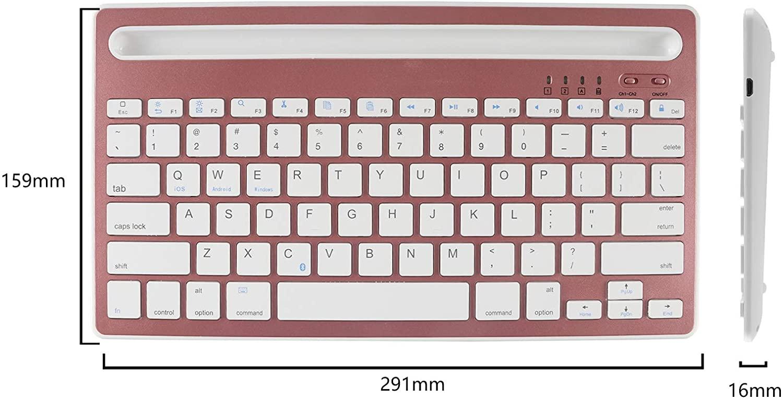 COOLAY(クーレイ) マルチペアリング Bluetoothキーボードの商品画像6