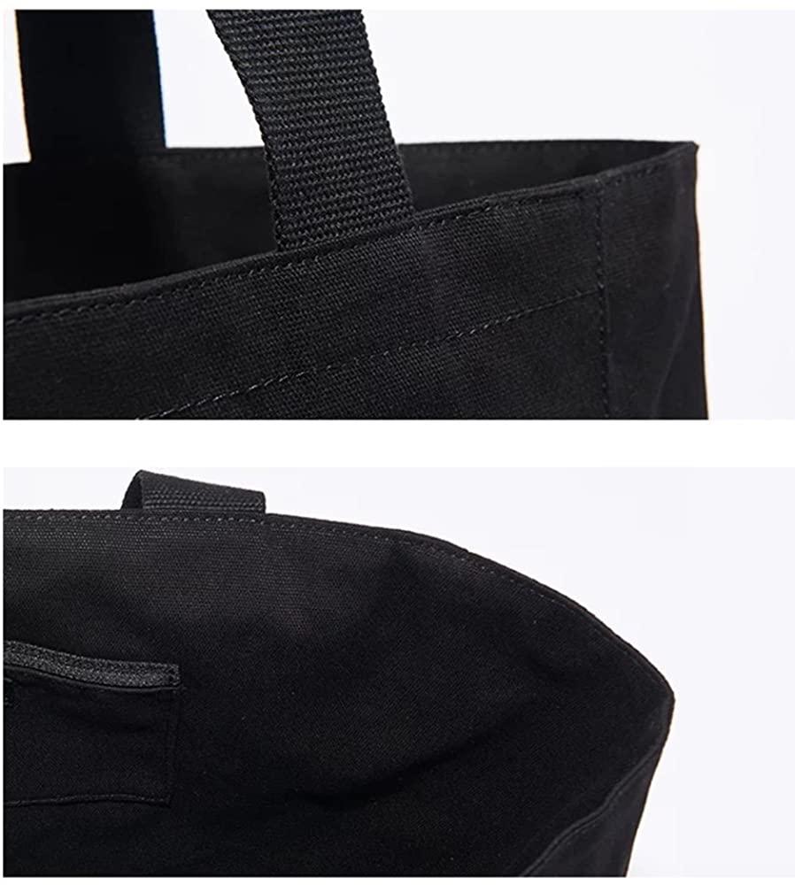 agnes b.(アニエスベー)コットントートバッグ ブラック GO03‐01の商品画像4