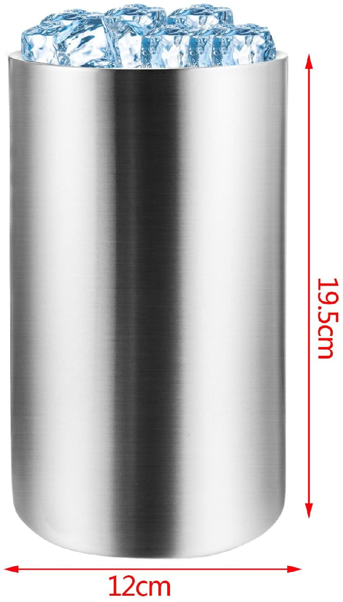 Voocye(ヴォッシー) 二重 ワインクーラー ステンレスの商品画像7
