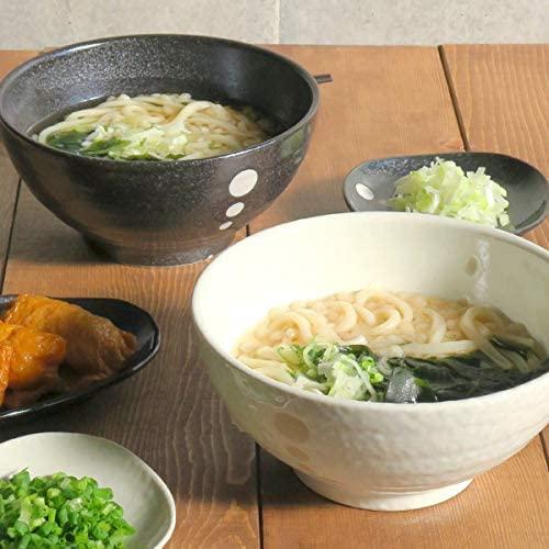 TABLE WARE EAST.(テーブルウェアイースト) 和食器 水玉 さぬきどんぶり (大)白の商品画像6