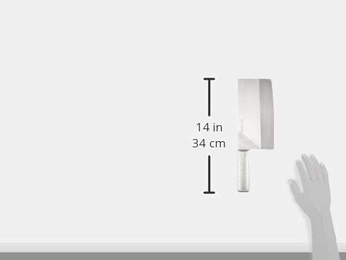 片岡製作所(KATAOKA) Brieto-M11Pro M1168 中華庖丁 #6 (本焼) 220×110mm 薄口の商品画像3