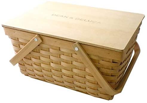 DEAN&DELUCA(ディーンアンドデルカ)蓋つきバスケットL クリームの商品画像4