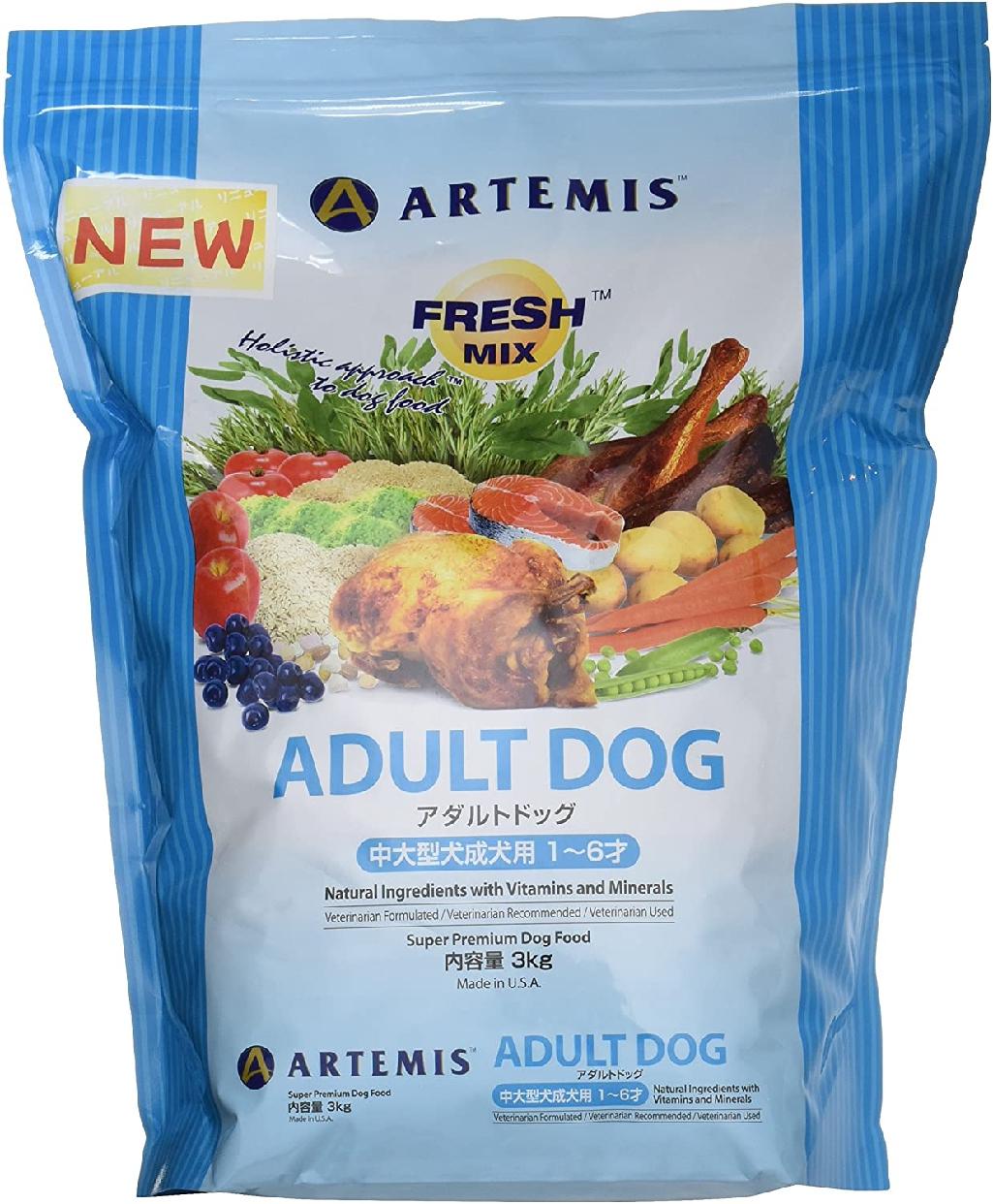 ARTEMIS(アーテミス) フレッシュミックス アダルトドッグ 3kgの商品画像