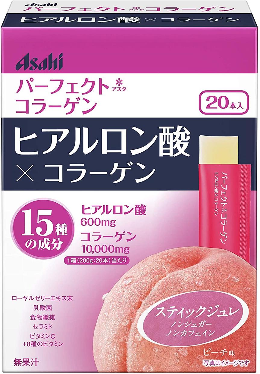 Asahi(アサヒグループショクヒン) パーフェクトアスタコラーゲン ヒアルロン酸ジュレの商品画像