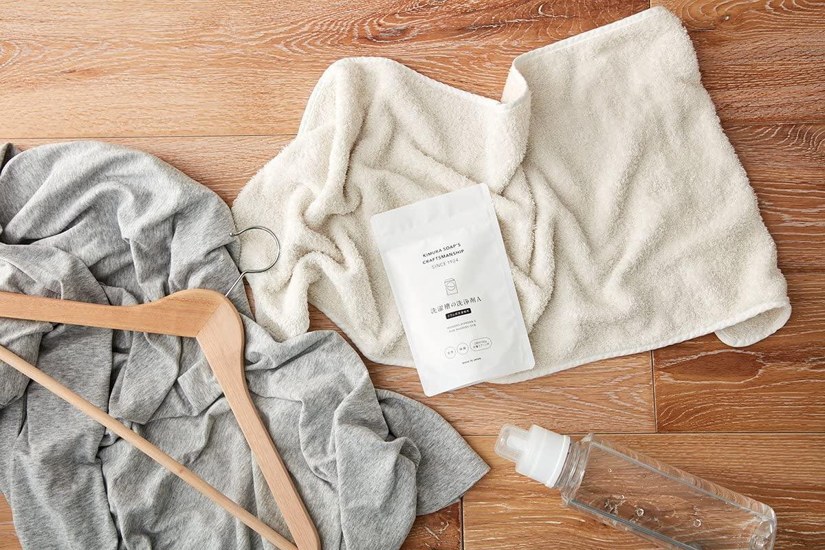 木村石鹸(きむらせっけん)洗濯槽の洗浄剤A(ドラム式洗濯機用)の商品画像2