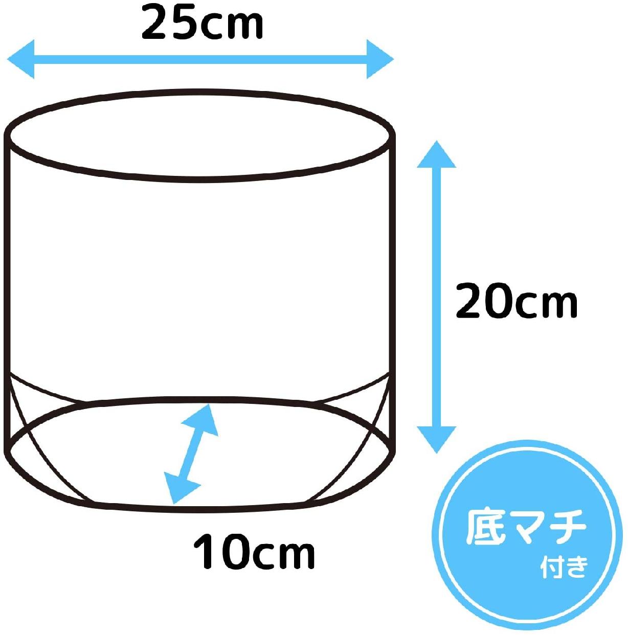 LEC(レック) 立てる 水切り袋 クリアカラー (100枚パック)  K00175の商品画像4