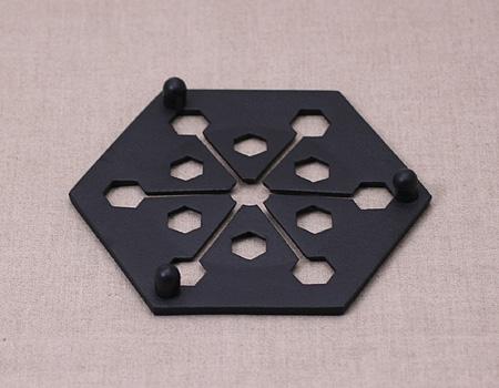 METROCS(メトロクス) 釜定 鍋敷き 六角の商品画像