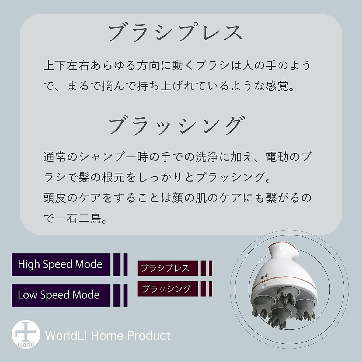 WorldLI Home Product(ワールドエルアイホームプロダクト)頭皮マッサージ器 KAS-1の商品画像3