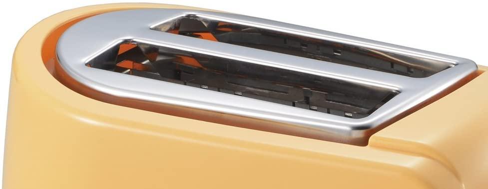 PUEL(プエル) ポップアップトースター ジャムバタースプーン付き オレンジ PU-108Aの商品画像4