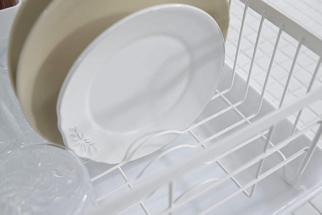 山崎実業(Yamazaki) 水切りバスケット トスカ 3107 ホワイトの商品画像7