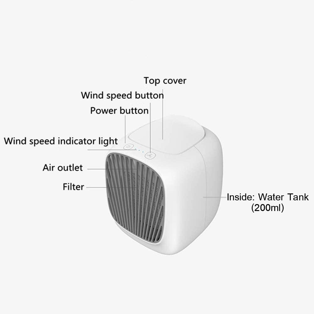 Rakuby 卓上冷風扇の商品画像7