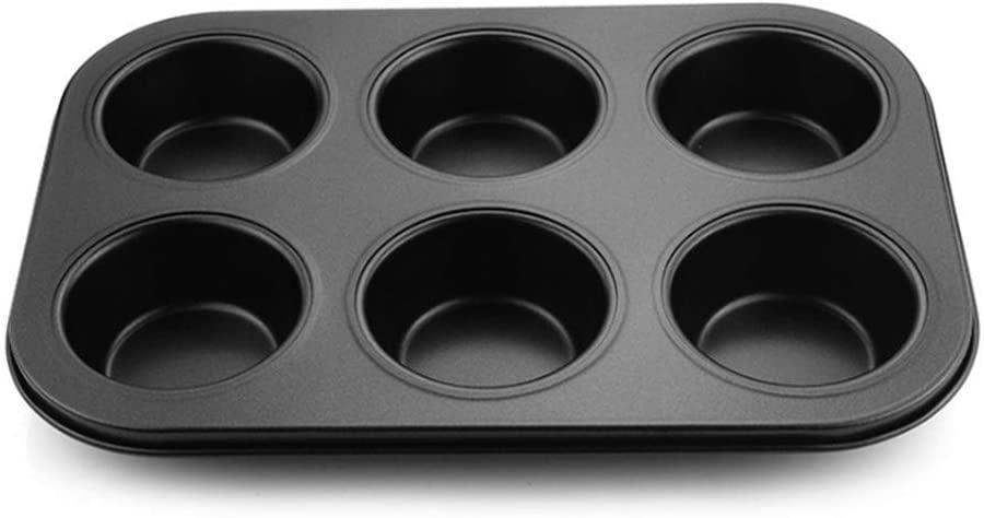 GOIOD(ジーオーアイオーディー)マフィン型 プレート 6個取り ブラックの商品画像3