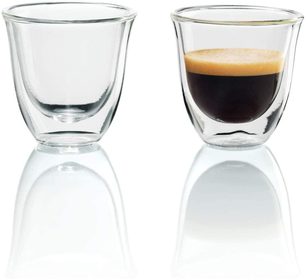 De'Longhi(デロンギ) ダブルウォールグラス(2個セット) エスプレッソ DWG2S-060の商品画像
