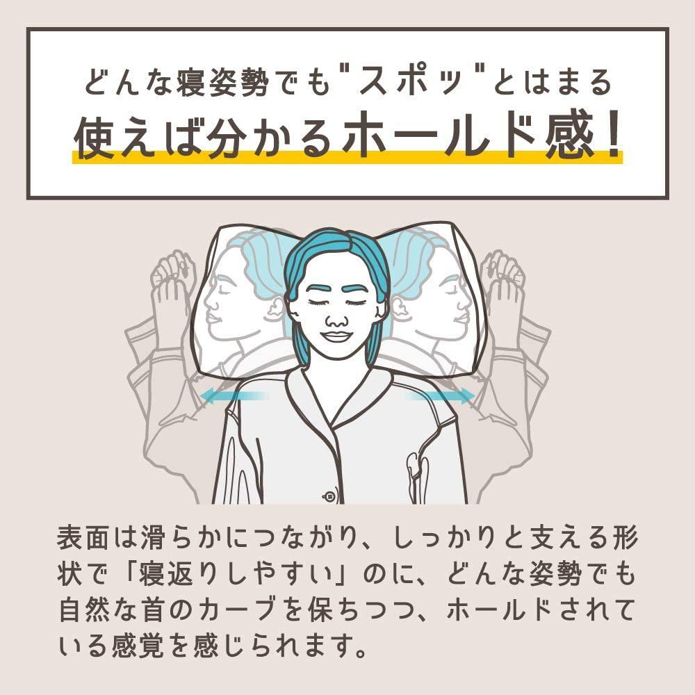 Nelture(ネルチャー) スージーAS快眠枕2の商品画像5