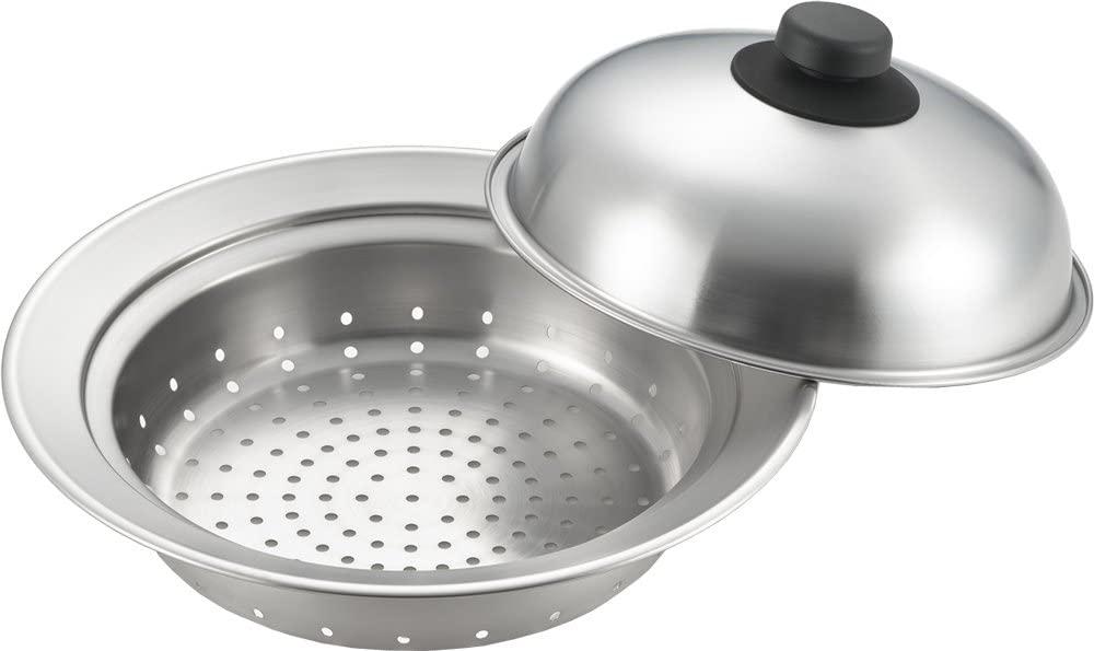 YOSHIKAWA(ヨシカワ) お鍋にのせて簡単蒸しプレート YJ2302の商品画像
