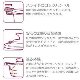 KUKUNA KITCHEN(ククナキッチン) 低圧多機能鍋20cm【4.0L】KKN-LV20Hの商品画像5