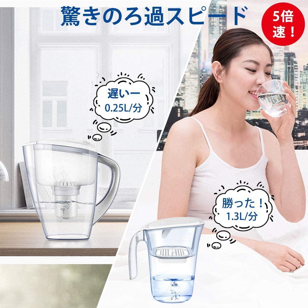 Dreamegg(ドリームエッグ) 浄水ポット 1.5Lの商品画像5