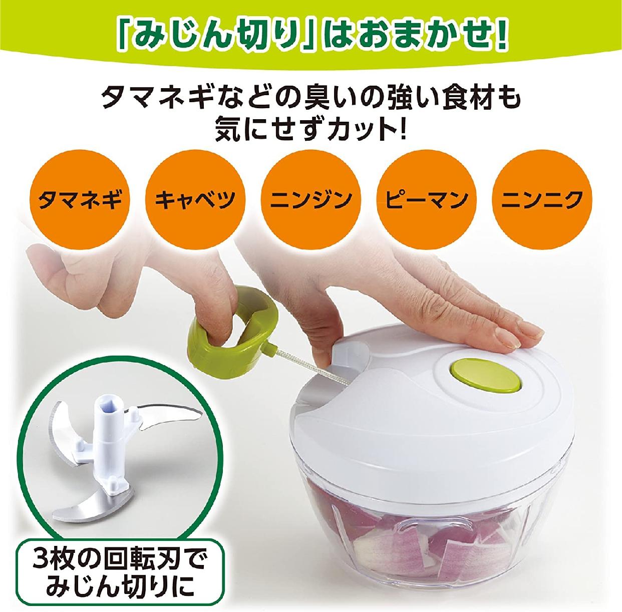 竹原製罐(たけかん)簡単みじん切りチョッパー A-80 ホワイトの商品画像4