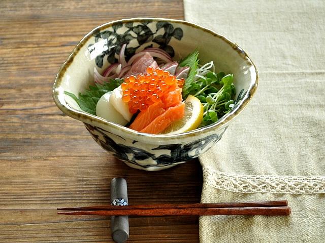 M'home style(エムズホームスタイル) ラーメン鉢 美濃焼 手書きたこ唐草 19.5cmの商品画像7