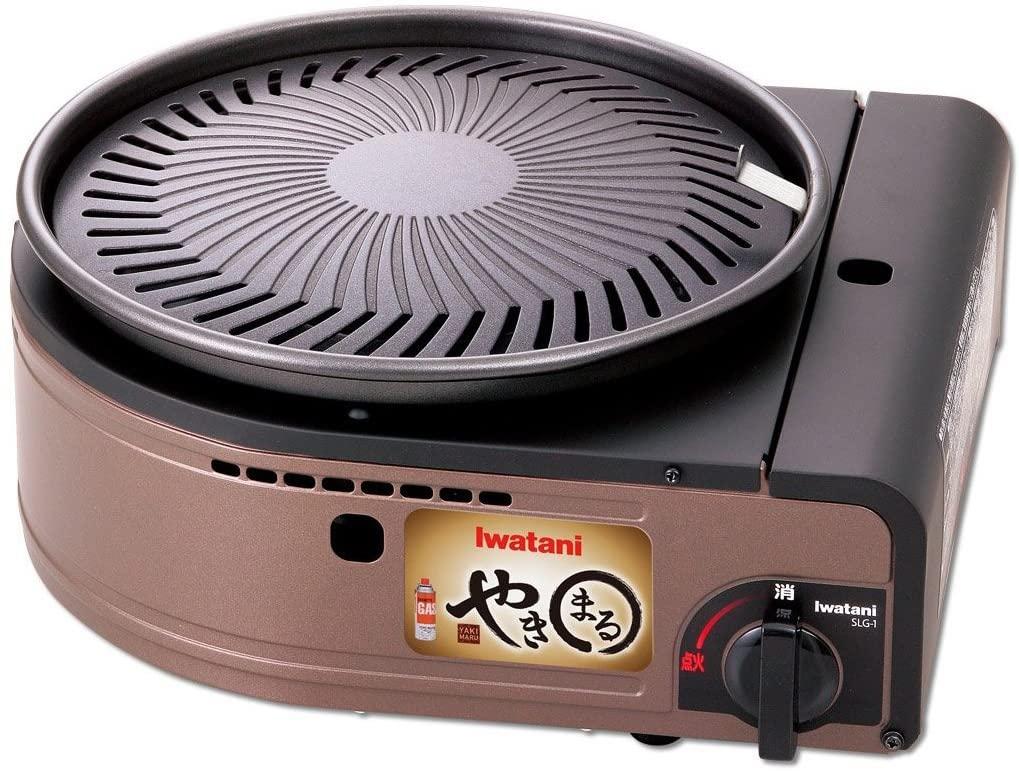 岩谷産業(Iwatani) カセットガス スモークレス焼肉グリル やきまる CB-SLG-1の商品画像