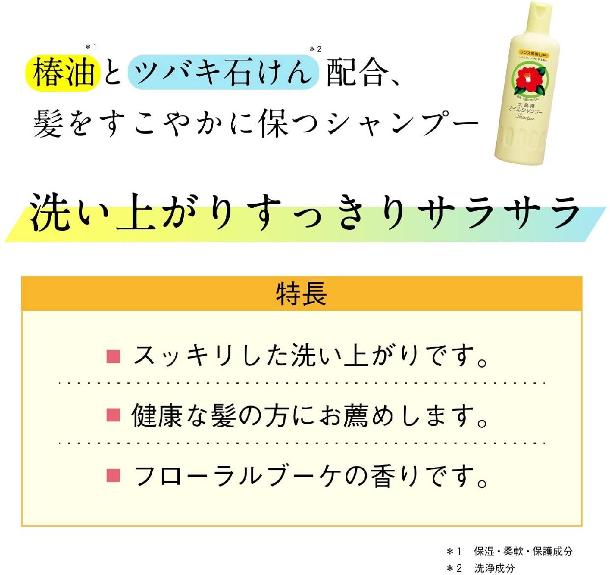 大島椿(オオシマツバキ)オイルシャンプーの商品画像5