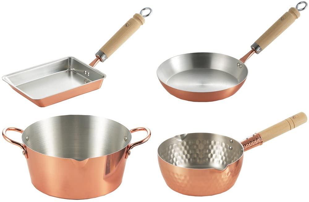 鈴なり 純銅フライパンの商品画像4