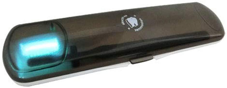 お口の専門店 紫外線+オゾン歯ブラシ除菌器ソレイユ コンパクト BS-001 携帯用の商品画像2