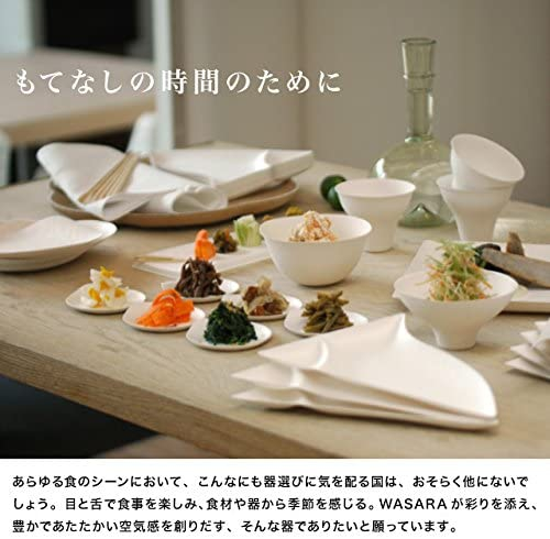 WASARA(ワサラ) 丸皿(中)100枚入 16.5cmの商品画像5