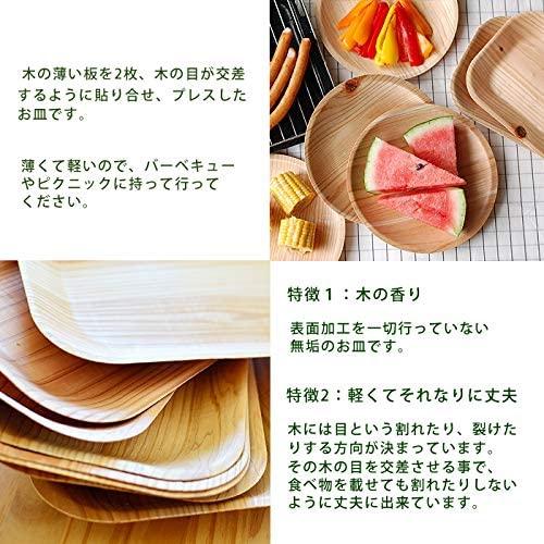 KIZARA(キザラ) 丸皿 100枚セット 21cmの商品画像3