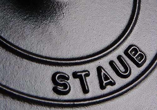 staub(ストウブ)両手フライパン ラウンド 20 cm ブラック(40511-659-0)の商品画像3
