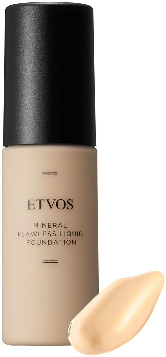 ETVOS(エトヴォス)ミネラルフローレスリキッドファンデーション