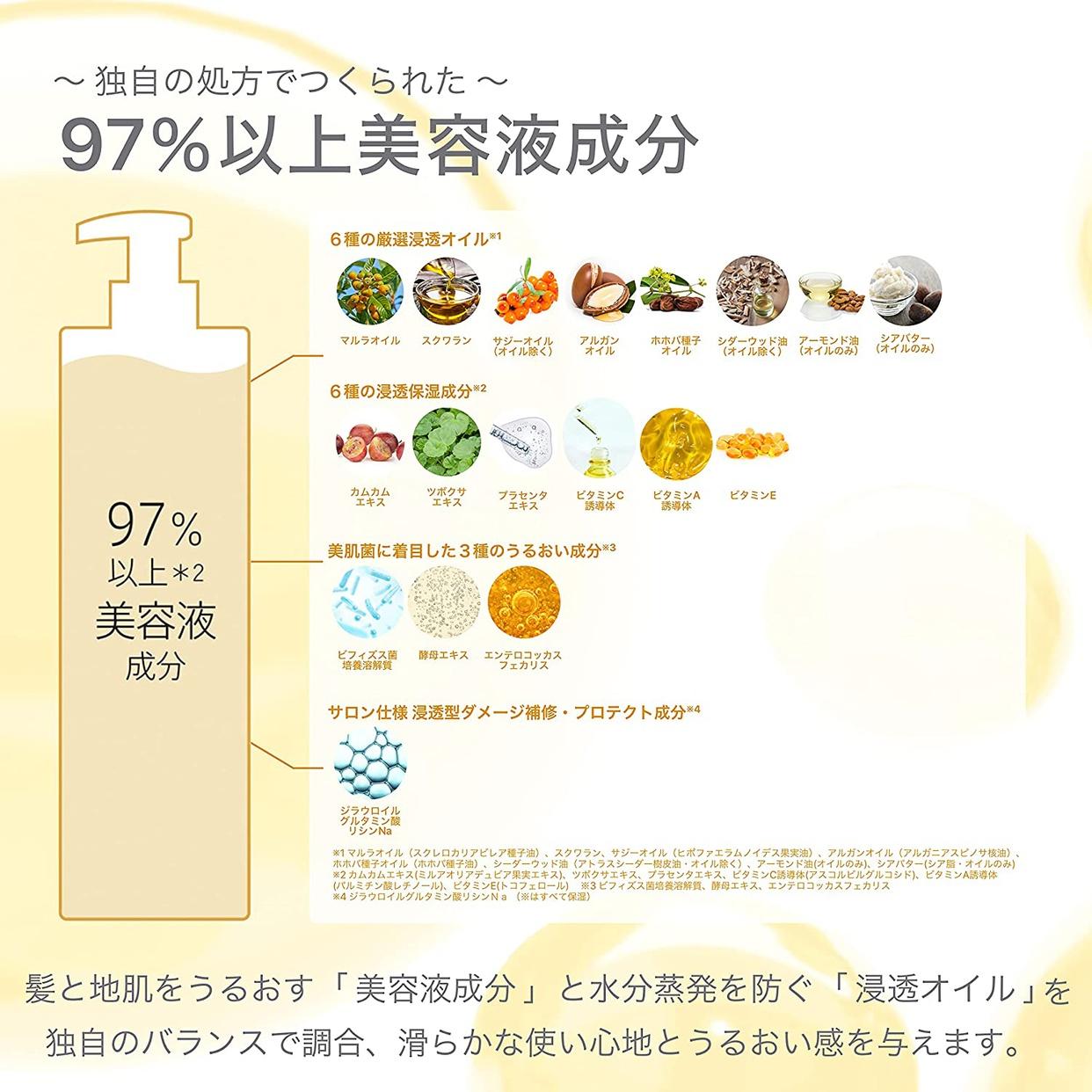 Purunt.(プルント) ディープ モイスト美容液 ヘアオイルの商品画像6