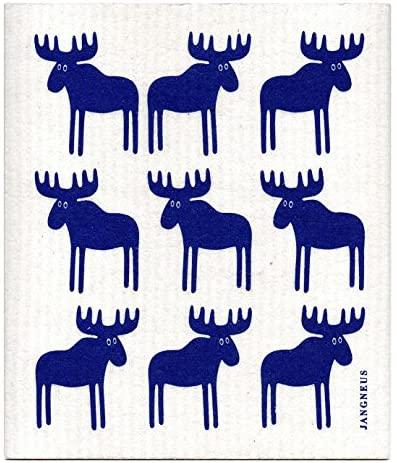 JANGNEUS(ヤングネウス)北欧スポンジワイプ ムース ブルーの商品画像