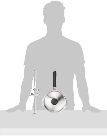 柳宗理(やなぎそうり)ステンレス・アルミ三層鋼 片手鍋18cm IH対応 つや消しの商品画像7