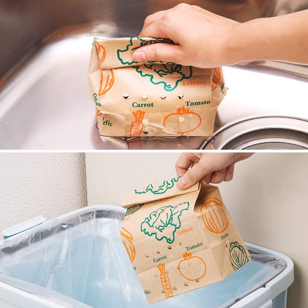 Nexta(ネクスタ) 紙製水切り袋「紙製ごみっこポイ」の商品画像3