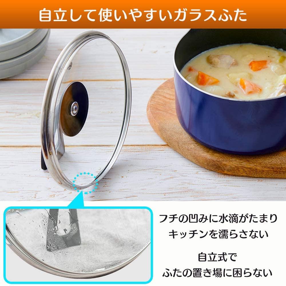 KITCHEN CHEF(キッチンシェフ)ダイヤモンドコート 片手鍋 18cm DIS-P18の商品画像5