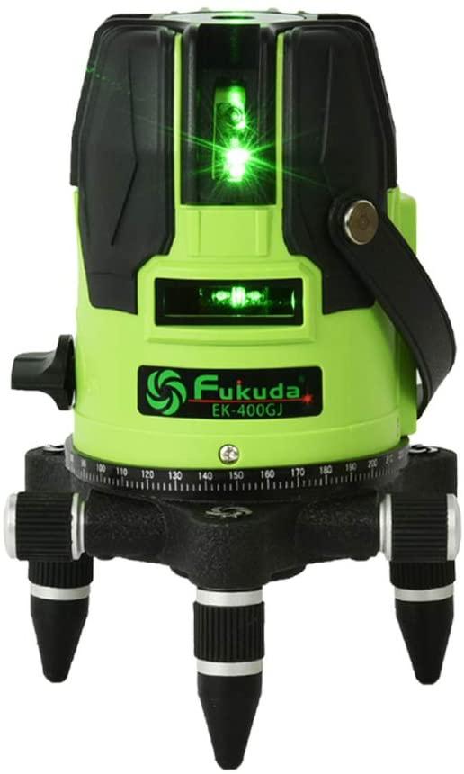 FUKUDA(フクダ) 5ライン グリーンレーザー墨出し器 EK-400GJ
